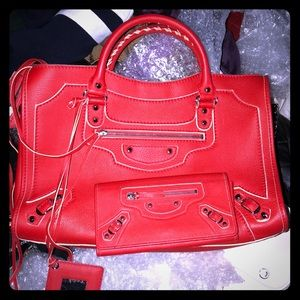 Balenciaga red hot set